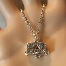 new sterling silver caravan pendant & chain