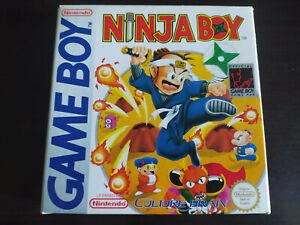 NINJA BOY VIDEOJUEGO NINTENDO GAME BOY PAL ESPAÑA COMPLETO DMG-CL-ESP