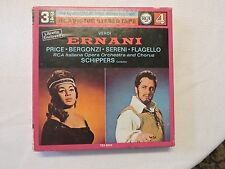 Verdi Ernani - Price Bergonzi Sereni Flagello - Philips Reel to Reel Tape