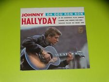 CD  SINGLE - JOHNNY HALLYDAY - DA DOU RON RON -  1963