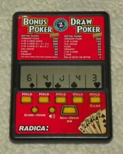 Radica - Bonus Poker / Draw Poker - 2 in 1 Electronic Game