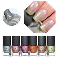 6ml Nail Polish Holographic Holo Nail Art Manicure Glitter Varnish Born Pretty