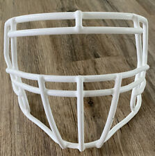 Riddell Speed Full Size Football Adult White Facemask SCH-S2BDC Great Cond.