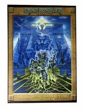 Iron Maiden Somewhere Back In Time 2008 World Tour Poster New Official
