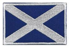 Gepatcht Applikation Patch Aufbügler Scotland Schottland 85 X 55 cm Gestickt