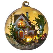 DIY Innovative Birthday Party Gift Doll House Hut Landscape Craft Ornament Set