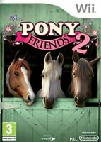 Pony Friends 2 II Nintendo Wii video game about Ponys, Horses & Riding Brand New