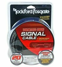 Rockford Fosgate RFI20 Twisted Pair 20ft Signal Cable