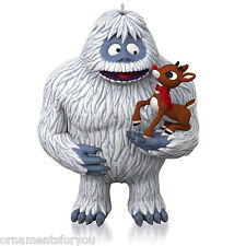Hallmark 2015 Misfit Friends Rudolph the Red Nosed Reindeer Abominable Ornament