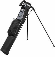Longridge Pitch & Putt Stand Bag In Black/Grey Brand New 50% Off January Sale