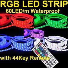 RAMOZZ @ 5M RGB 5050 60 LED/M STRIP 44 TASTEN RC WASSERDICHT