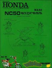SHOP MANUAL SERVICE REPAIR BOOK HONDA NC50 NA50 EXPRESS MOPED WORKSHOP GUIDE