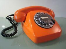 Original altes Post Telefon FeTAp 611-2, orange, wunderbarer Zustand.
