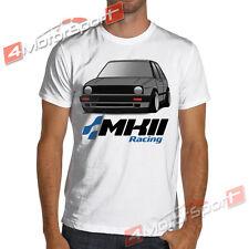 VW Golf Mk2 Gti Racing T-Shirt Volkswagen MKII