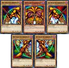 Yugioh YGO Common Exodia the Forbidden One Set ALL 5 PIECES LDK2-ENY04 MINT!!