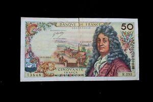 billet 50 francs racine TYPE 1962 R.233  E.8-11-1973.E