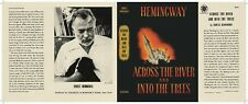 Facsimile Dust Jacket ONLY Ernest Hemingway Across the River and Into the Trees