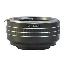 Nikon F AI Mount Lens to Olympus Panasonic Micro 4/3 M43 Mount Adapter E-PM2 G5