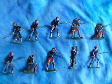 Plats d'étain HEINRICHSEN - Zinnfiguren - 10 soldats divers - Lot 2