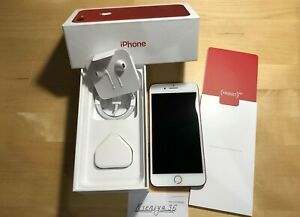Apple iPhone 7 (PRODUCT) White/ RED 128GB UNLOCKED
