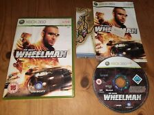 Vin Diesel Wheelman (Xbox 360, 2007) Complete With Manual Good Condition