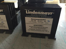 Lindenmayer Typ186 Spannungswandler Convertitore 24/12V 3A per camion, barca