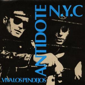"ANTIDOTE ""VIVA LOS PENDEJOS"" LP USED, VG+/VG+! N.Y. HARDCORE-PUNK ROCK-A.F.-OI!"