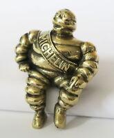 Superb Brass Michelin Man Car Bonnet Scooter Mascot – Bibendum Hood Ornament