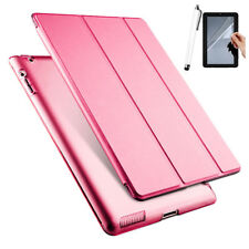 For Apple iPad 4th 3rd 2nd Gen Slim Magnetic Flip Leather Smart Case Stand Cover