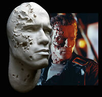 Arnold Schwarzenegger Terminator Life Mask T2 Stage 4 Battle Damage Endoskull