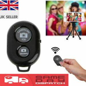 New Bluetooth Remote Control Camera Selfie Shutter Stick for iphone, Android UK