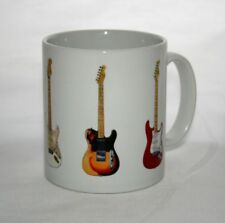 Guitar Mug. David Gilmour's Guitar Illustrations.