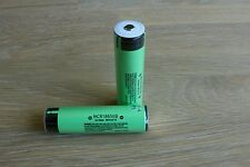 two pieces 18650 battery 3400mAH 3.6V Protected, with protective storage box