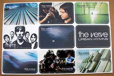 THE VERVE Urban Hymns Virgin Records Promo Sticker Set Sheet 1997 Mint-