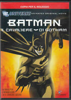 1 DVD DC COMICS CARTOON SUPERHEROES-BATMAN ANIMATED MOVIE,IL CAVALIERE DI GOTHAM