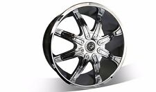 4X 20 inch NEW CHROME wheels suits COMMODORE,FALCON,BMW3,2WD HILUX,ACCORD,AURION