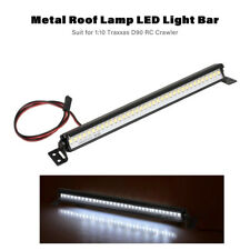 Metal Roof Lamp LED Light Bar for 1:10 Traxxas SCX10 D90 RC Rock Crawler Car