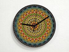 Mandala Kaleidoscope - Pattern Design - Geometry Textures & Shapes - Wall Clock