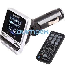 E02 12B CAR FM Transmitter Freisprechanlage Bluetooth BT Smartphone USB Micro SD