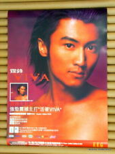 Nicholas Tse RARE 2000 Hong Kong Orig'l Vintage Promo Poster 活著 Viva 謝霆鋒 官方宣傳海報
