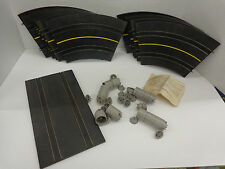 49 Pieces original Lionel 1960's 1/32 Slot car tracks and Acces.