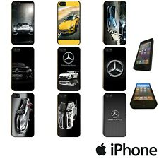 MERCEDES BENZ AMG CAR LOGO CARBON PHONE CASE COVER FOR APPLE iPhone MER00
