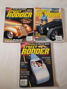 Lot of 3 1999 Street rodder magazine interview with Tim Allen July April January