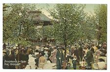Bandstand in Castle Park, Colchester PPC, Unposted, From British Mirror Series