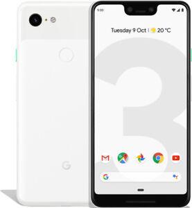Google Pixel 3 XL 64GB Clearly White, Neuwertig, Display Burn-In