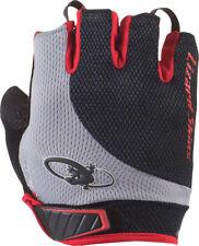 New Lizard Skins Aramus Elite Gloves: Jet Black/Crimson XS