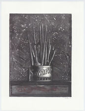 """Jasper Johns """"Savarin"""""""