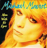 "MICHAEL MONROE man with no eyes/dead jail all rock 'n' roll VER 46 7"" PS EX/EX"