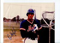 Dave Magadan 1986 World Series Champ NY New York Mets Signed Autograph Photo