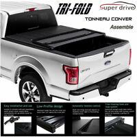 Fits 2005-2015 Toyota Tacoma Assemble Lock Tri-Fold Tonneau Cover 5ft Short Bed